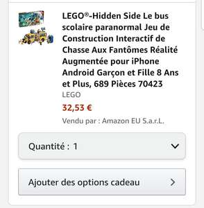 Lego Hidden Side 70423 Geisterschreck 3000