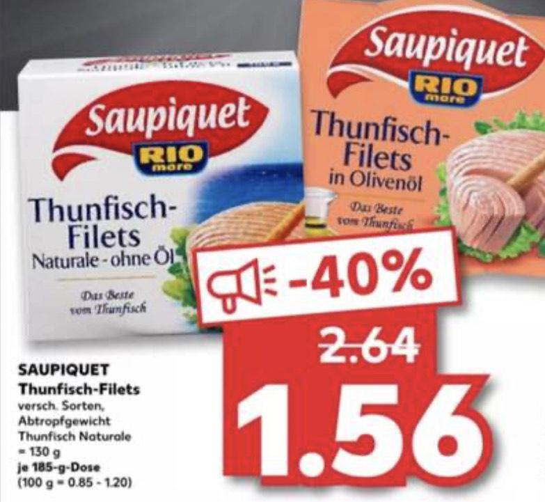 [Kaufland] Saupiquet Thunfisch-Filets (30.11.-02.12.)