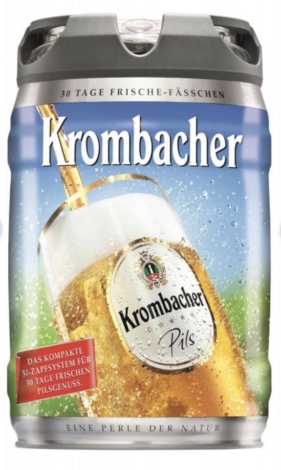 Krombacher Pils 5-Liter-Fass mit CO2-Zapfsystem ab 04.12. für nur 9,69€ [ALDI-Nord]