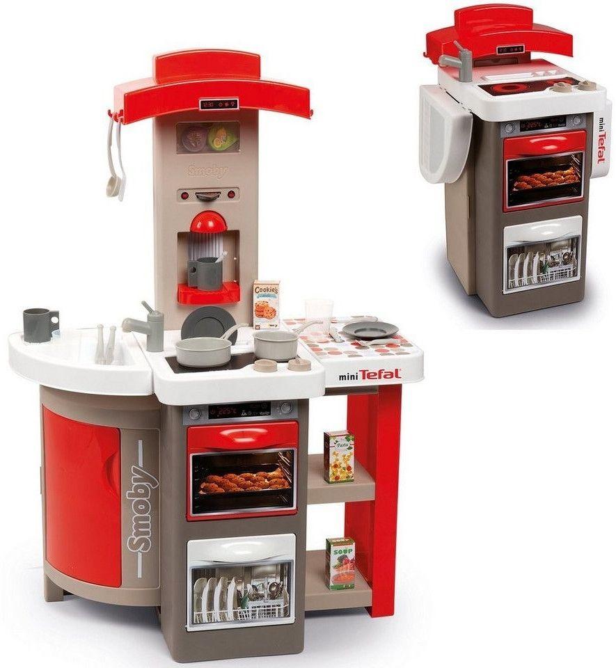 Smoby Tefal Opencook faltbare Spielzeugküche, rewe