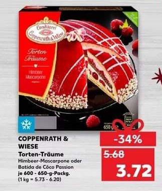 [Kaufland] Coppenrath & Wiese Torten-Träume dank Coupon nur 2,72 € ab 26.11.