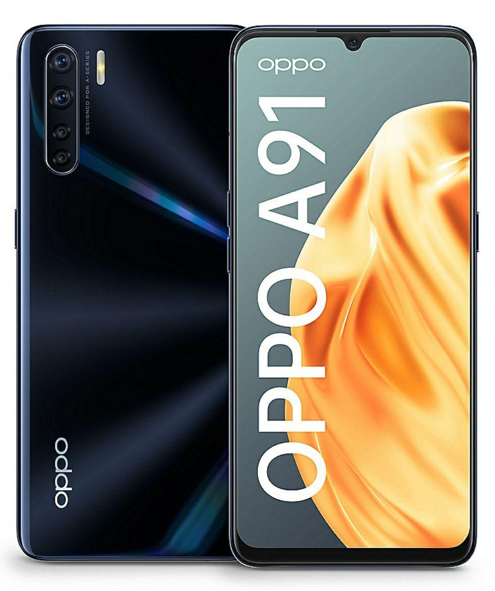 Oppo A91 (Cyberport) Blau / Schwarz