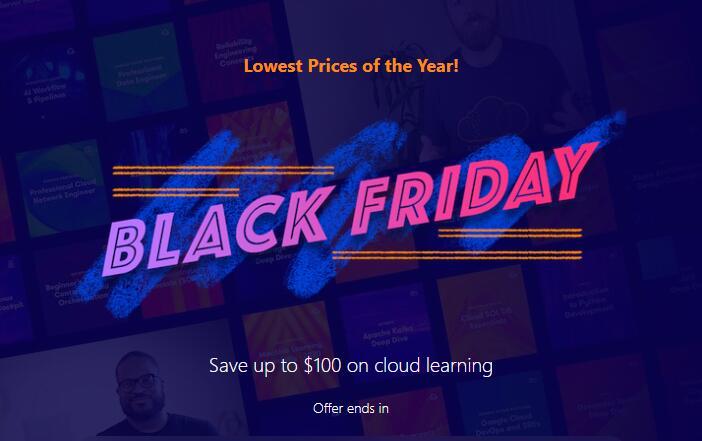 acloudguru.com (Linuxacademy) Black Friday Deal, jährliche Abrechnung