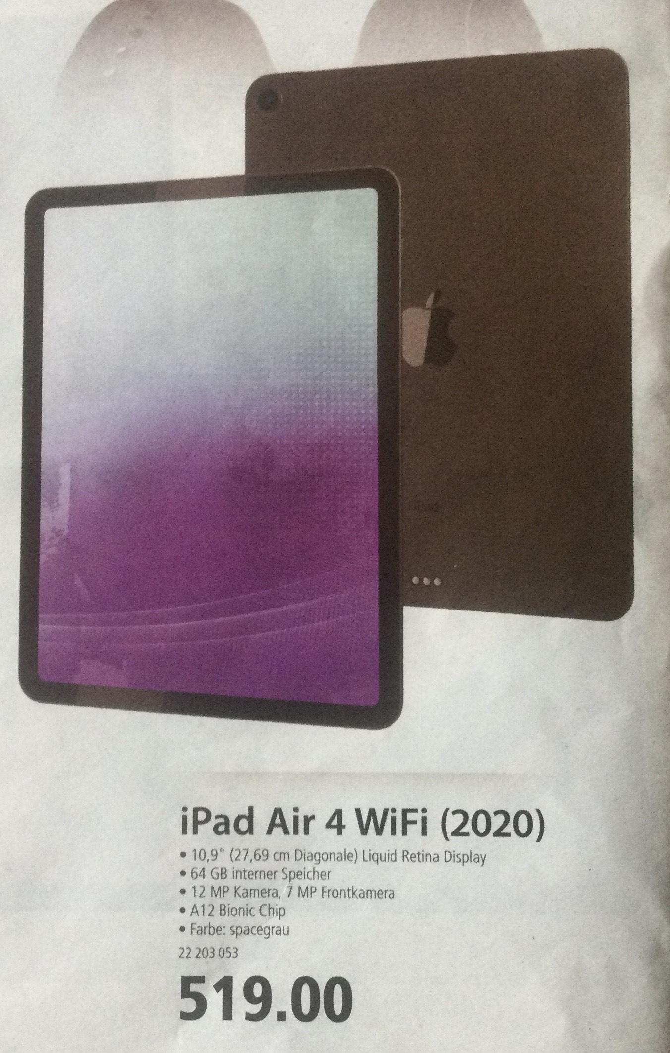 [Corporate Benefits Lokal] iPad Air 4 (2020) Selgros Cash & Carry