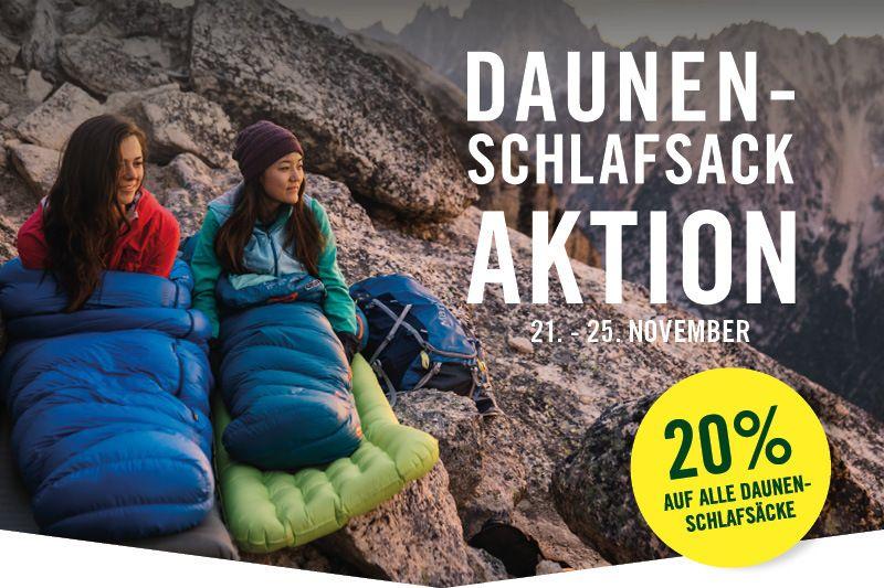 20% Rabatt auf Daunenschlafsäcke / Western Mountaineering [Globetrotter]