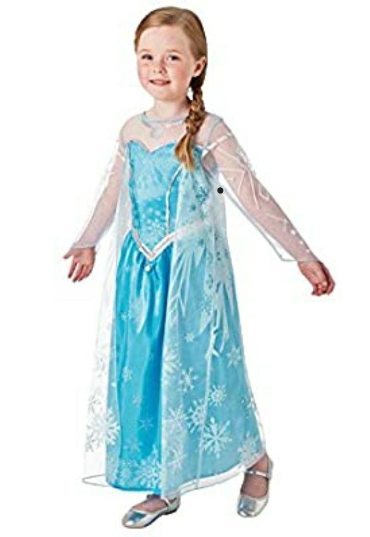 Rubies Elsa Deluxe Kostüm Gr. M, 5-6 Jahre [Prime]