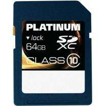 PLATINUM SDXC KARTE 64GB CLASS10 für nur 29,74€ inkl. Versand (Idealo: 40€) + 6% QIPU