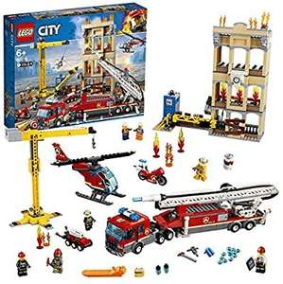 (Amazon Prime) Lego City 60216 - Feuerwehr in der Stadt