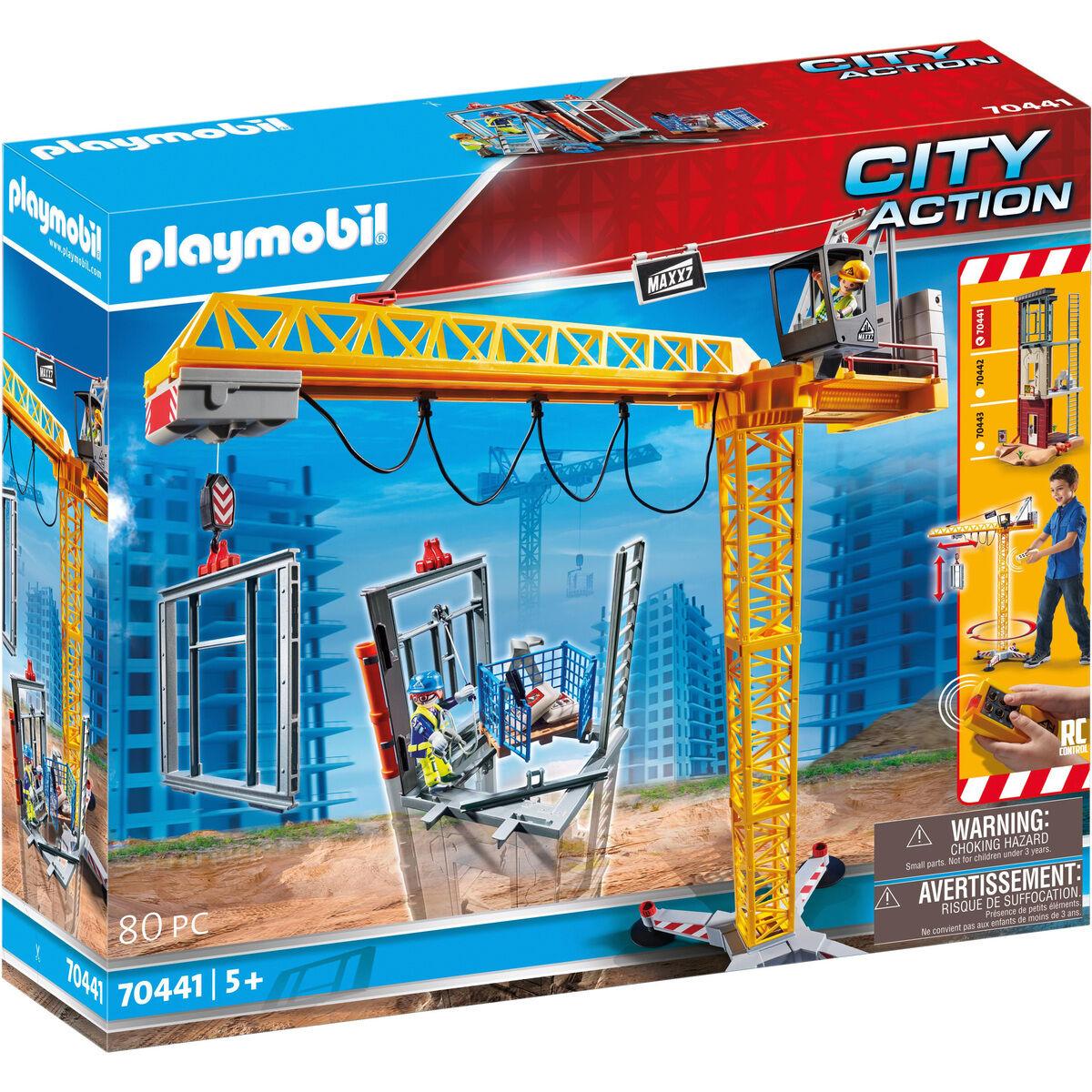 Playmobil RC-Baukran mit Bauteil 70441 [galeria.de]