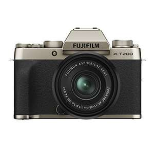Fujifilm XT200 Body (goldfarben) inklusive XC15-45/3.5-5.6 - Amazon.es