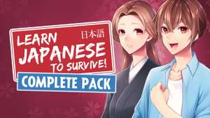 [Steam PC/Mac] Learn Japanese to Survive Complete Bundle for € 1.35 @ Fanatical
