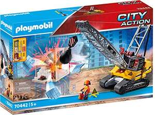 [Amazon] Playmobil 70442 Seilbagger Abrissbirne