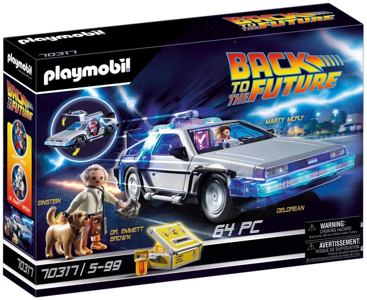 Playmobil DeLorean 70317 Back to the Future