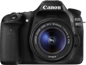 [Media Markt / Saturn] Canon 80D Kit 18-55mm IS STM
