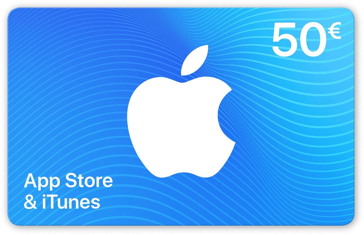 [Gamivo] 50€ iTunes Guthaben für 40,33€