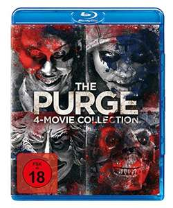 The Purge - 4-Movie-Collection (4 Blu-ray) (Amazon Prime)