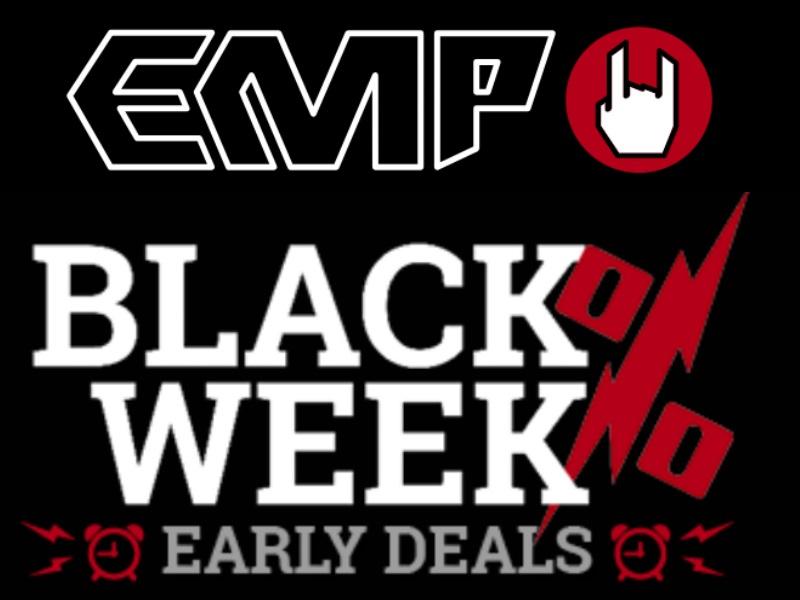 EMP Sammeldeal Black Friday Rabatt von 30% - 50%
