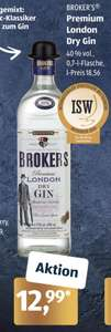 [ALDI SÜD] Brokers Premium London Dry Gin 40% (1 x 0,7l)