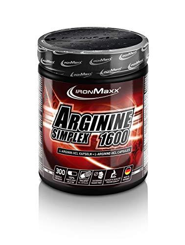 IronMaxx Arginin Simplex 1600 300 Kapseln