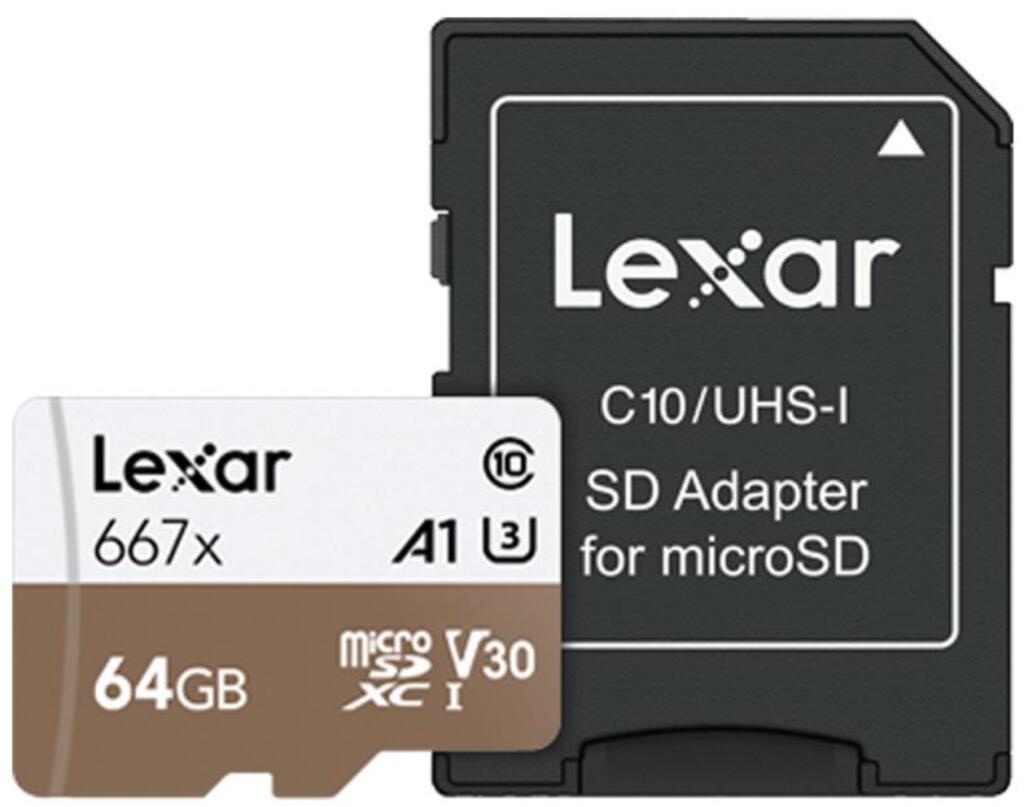 Lexar Professional 64GB microSDXC [MediaMarkt]
