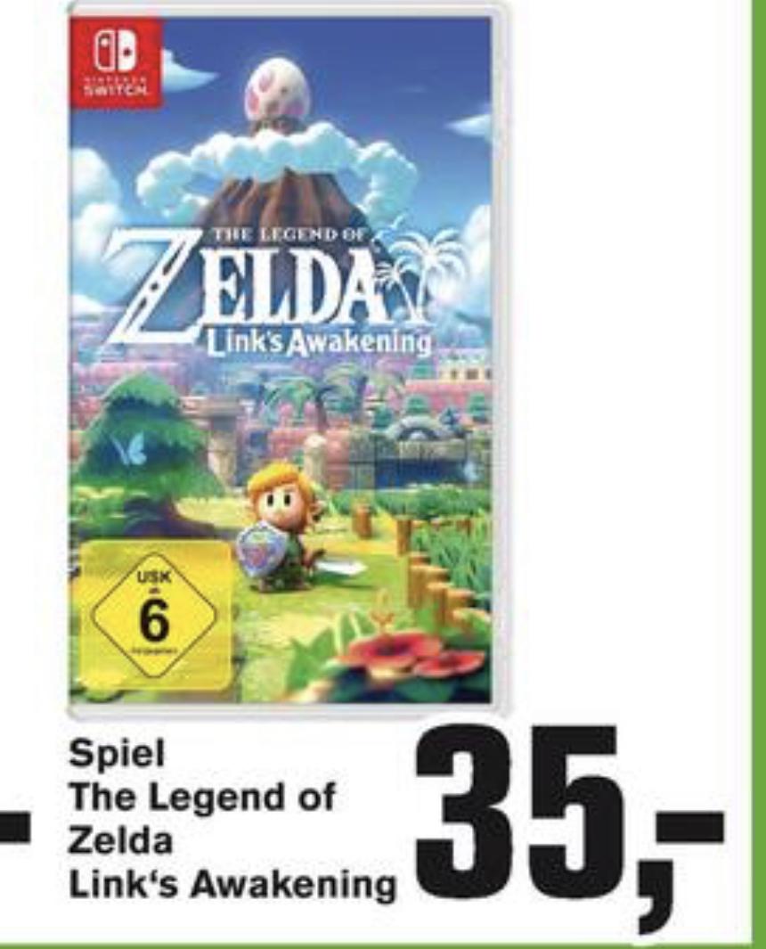 [Alphatecc] The Legend of Zelda: Link's Awakening Switch - 34,77€ | Luigis Mansion 3 / Pokémon Schild - 38,77€