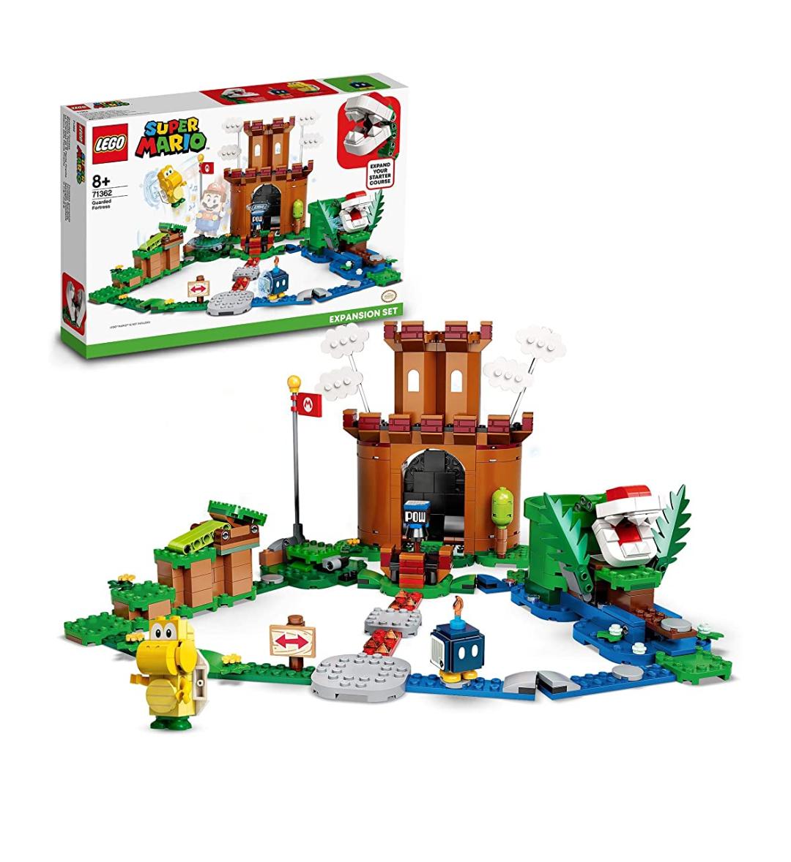 LEGO 71362 Super Mario Bewachte Festung – Erweiterungsset, Bauspiel Prime