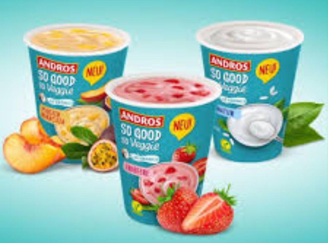 """[Edeka Minden-Hannover] Andros """"So Good so Veggie"""" Joghurt"""