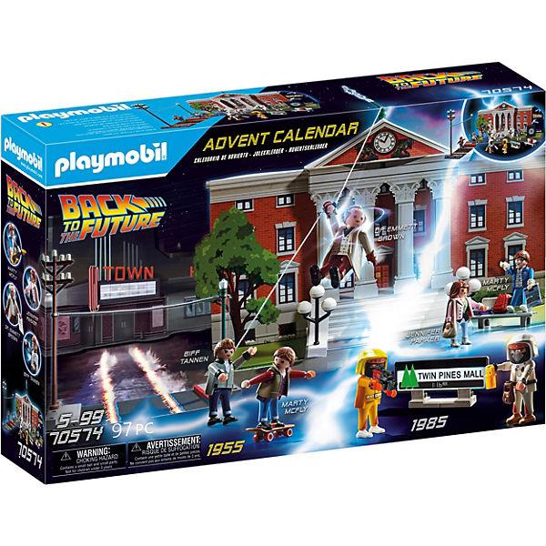 """PLAYMOBIL ® Adventskalender 70574 """"Back to the Future"""" Zurück in die Zukunft"""