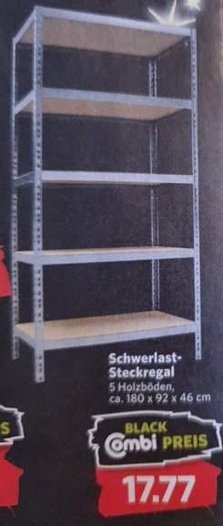 Offline COMBI Schwerlastregal 180x92x46cm