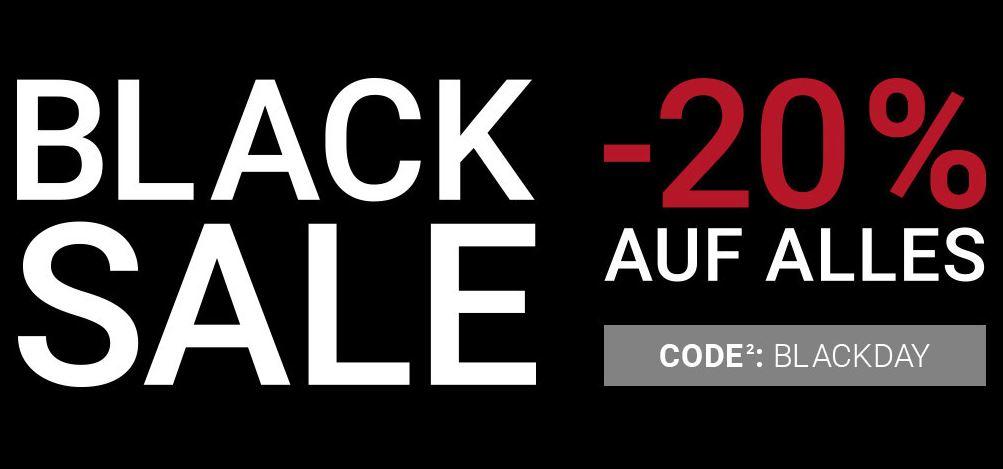 Peek & Cloppenburg - 20% auf alles - BlackFriday