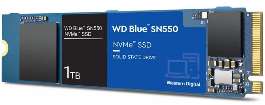 WD Blue SN550 NVMe M.2 SSD, 1 TB