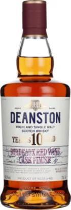 Whisky Deanston 10 Jahre Bordeaux Red Wine Cask Finish