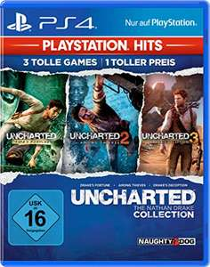 [Prime] Uncharted Collection (Teil 1-3), Uncharted 4 oder Uncharted The Lost Legacy für je 9,99€