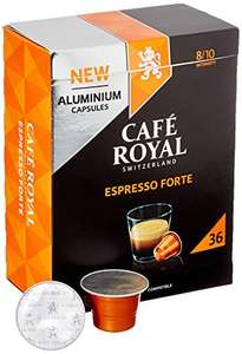 [Amazon Prime] Café Royal Espresso / Lungo 36 Nespresso kompatible Kapseln (25% einmalig + Spar Abo Rabatt) / personalisiert