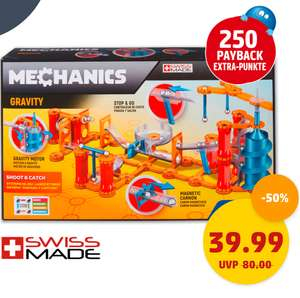 [Penny] Geomag Gravity Shoot and catch 243 Teile für 39,99€ (37,49€ mit 250 extra Payback Punkten)
