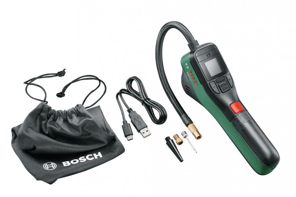 Neue Akkuluftpumpe von Bosch-Easypump - fürs Auto, Fahrrad, Bälle