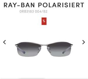 Ray Ban Sonnenbrille Top Bar