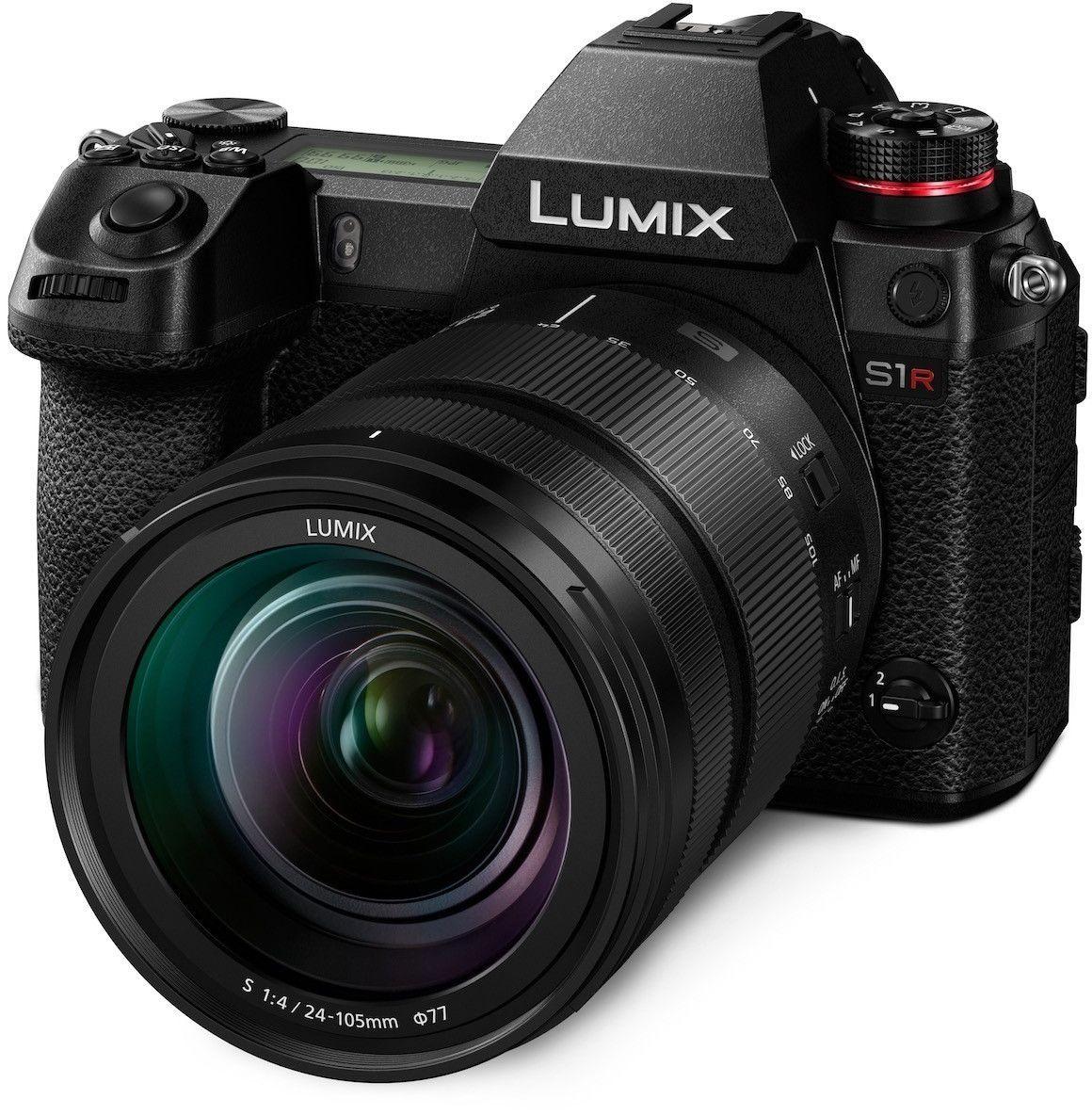 Panasonic Lumix DC-S1R Systemkamera inkl. 24-105F4 & 85F1,8 Objektiv & Batteriehandgriff | Missnumerique.Fr