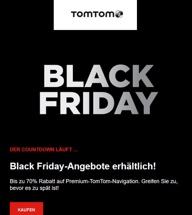 gute Rabatte bei TomTom auf Geräte z.B. TomTom GO Premium X f. 290,92€