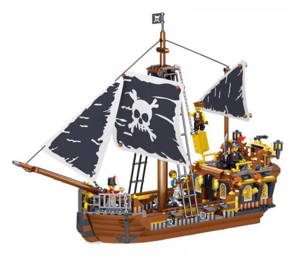 [Klemmbausteine] Piratenschiffe von ZHE GAO @ BlueBrixx
