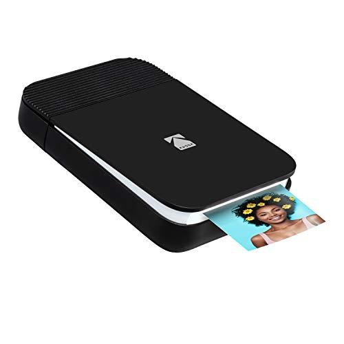 KODAK Smile Fotodrucker für Smartphone (IOS und Android) - Tintenloser Sofortdrucker, Bluetooth