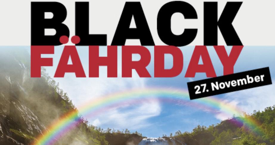 Black Fährday / Fjord Line 2021 - 50%
