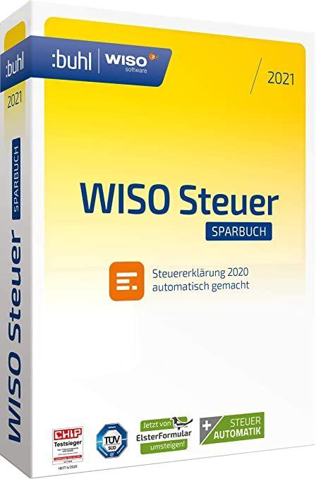 WISO Steuer–Sparbuch 2021 für die Steuererklärung 2020 (Windows only, Download)