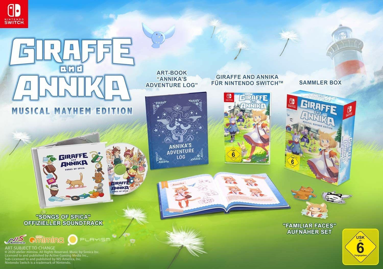 Giraffe and Annika Limited Edition (Nintendo Switch)