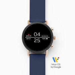 Skagen Smartwatch Falster 2 - Silikon - Marine +5% shoop