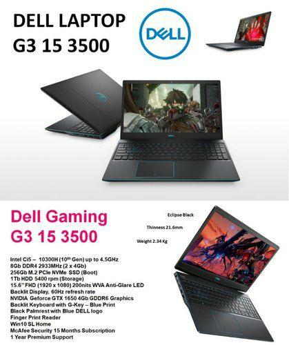 "CyberdealDELL G3 15 3500 Gaming Laptop 3KJ99 15,6"" FHD i5-10300H 8GB/512GB SSD GTX 1650 Win10"