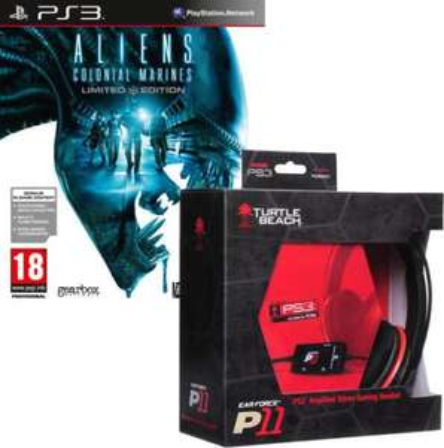 PC/XBox360/PS3 - Aliens:Colonial Marines(Limited Edition) + Turtle Beach Headset Z11/P11/X12 ab €44,54 [@Zavvi.com]