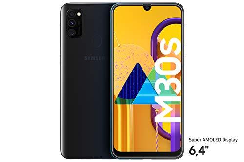 "Samsung Galaxy M30s Smartphone 64GB 6.4"" FHD+ Akku 6.000 mAh - Amazon WHD Gut"