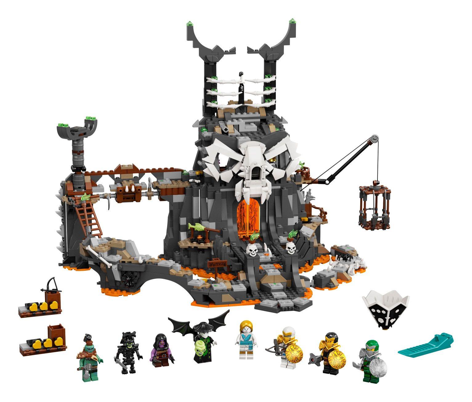 LEGO® Ninjago 71722 Verlies des Totenkopfmagiers