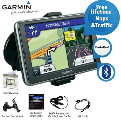 Garmin nüvi ® 2460LMT 5-Zoll Navigationssystem mit Bluetooth für 139,95 € @ iBood